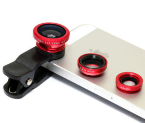 set de lentile pentru telefon 3 în 1