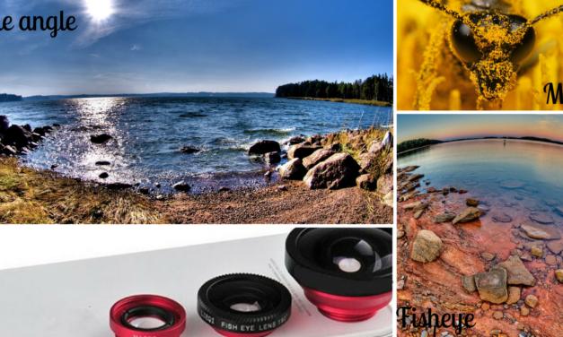 Set de lentile pentru telefon 3 în 1 – îți va transforma smartphone-ul într-un aparat foto profesional